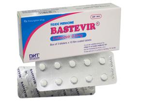 BASTEVIR: Điều trị nhiễm vi rút viêm gan B mạn tính (HBV)