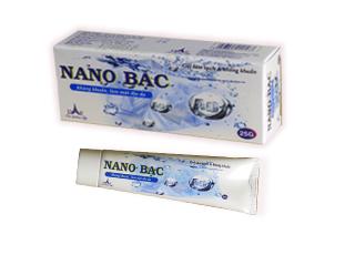NANO BẠC: Kháng khuẩn, làm dụi mát da