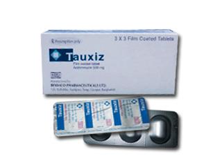 TAUXIZ: Đặc trị nhiểm khuẩn da mô mềm