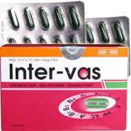 Inter-vas : bổ sung vitamin, muối khoáng