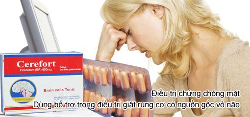 Cerefort - trị chóng mặt, thiếu máu