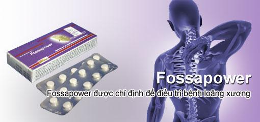 Fossapower - phòng loãng xương