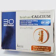 Davin France Calcium - Bổ sung Can xi, vitamin D3 cho cơ thể